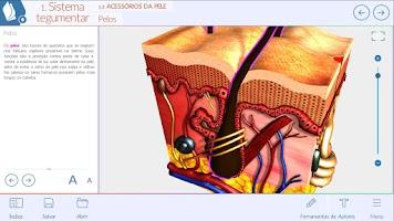 Screenshot of anatomia humana 3D