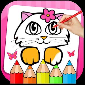 Игра раскраски котики 8