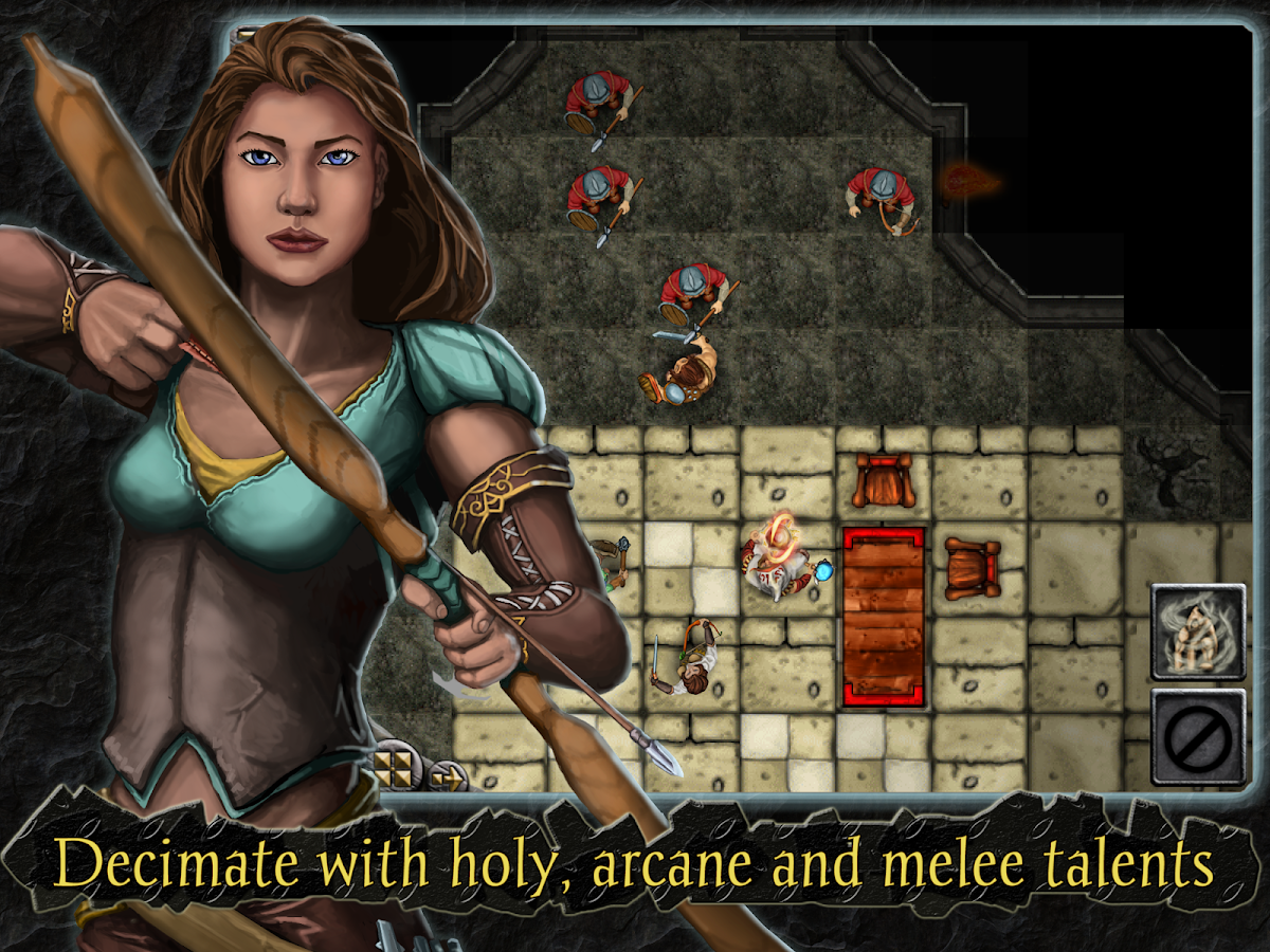 Heroes of Steel RPG Elite Screenshot 10