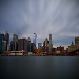 New York City by Joe Nanez - City,  Street & Park  Skylines