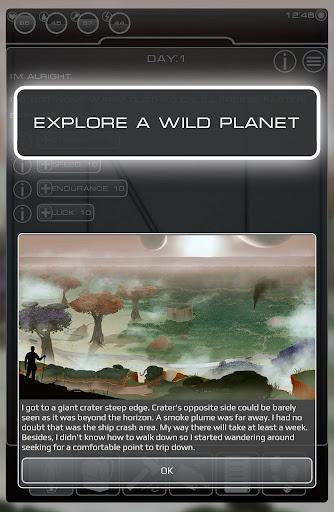 Survival planet - screenshot