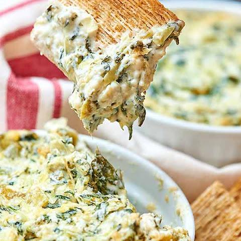 Spinach Artichoke Green Chile Dip Recepten | Yummly