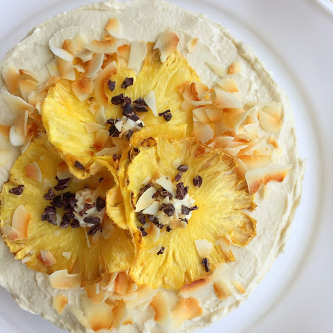 Dreamboat Pineapple Coconut Cake