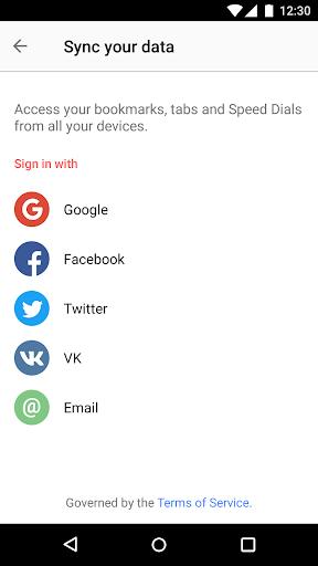 Opera browser - news & search screenshot 7