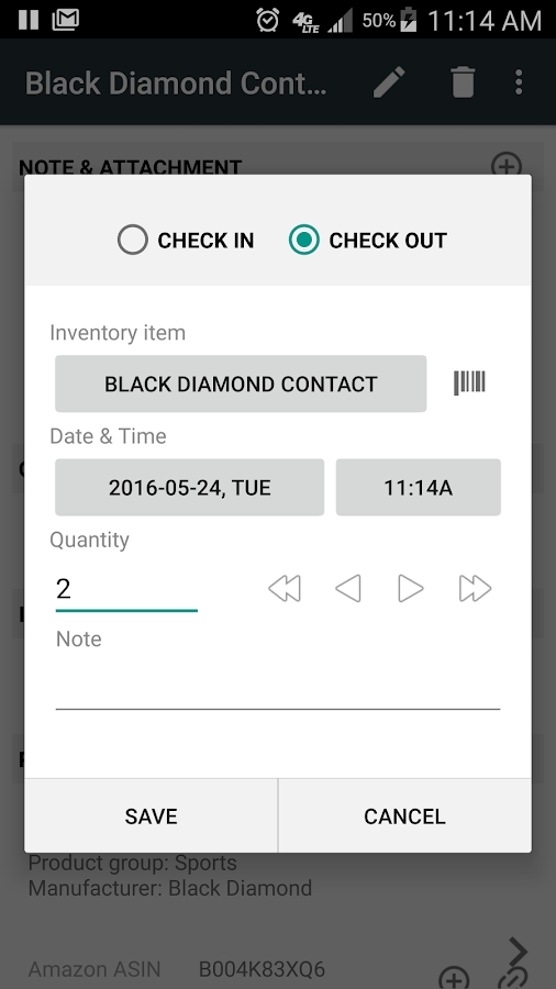 Barcode & Inventory Pro Screenshot 0