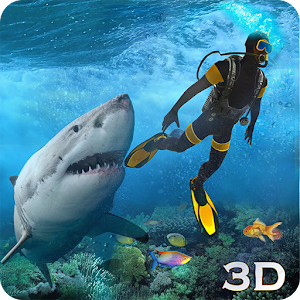 Shark Attack Spear Fishing 3D