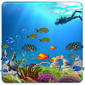 Download ocean fish live wallpaper hd apk on pc download for Fish live game