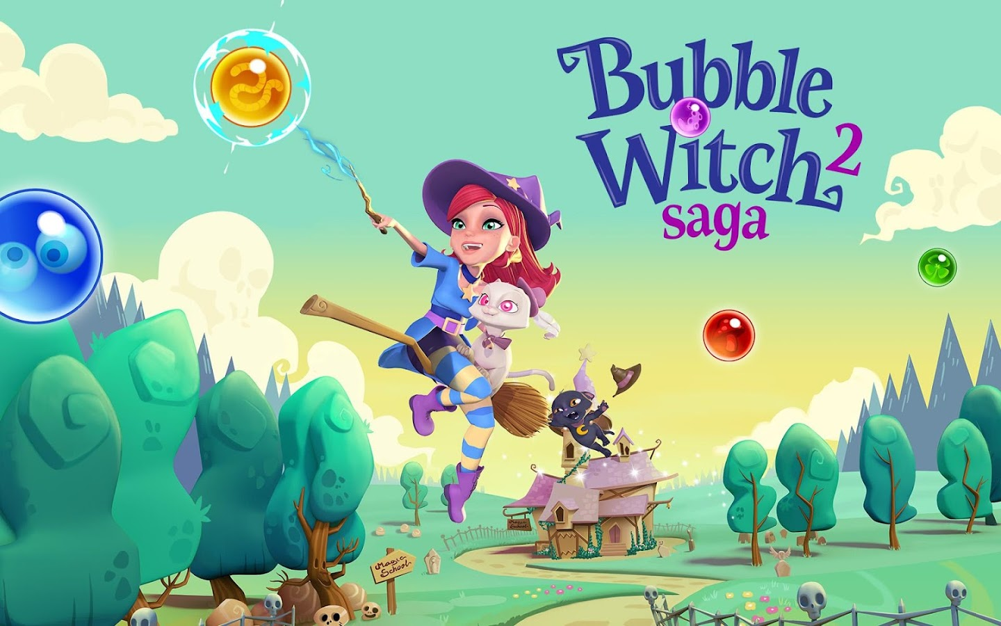 Bubble Witch 2 Saga Screenshot 16