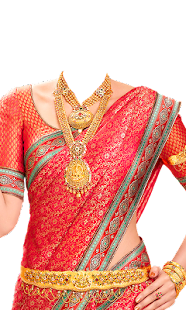 Jewellery Traditional Saree - screenshot