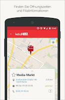 Screenshot of kaufDA - Prospekte & Angebote