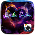 Z CAMERA SMOKE COLORS THEME APK for Bluestacks