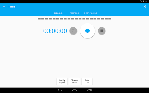 Audio Recorder and Editor- screenshot thumbnail