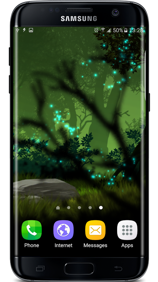 Firefly Forest Live Wallpaper Screenshot 3