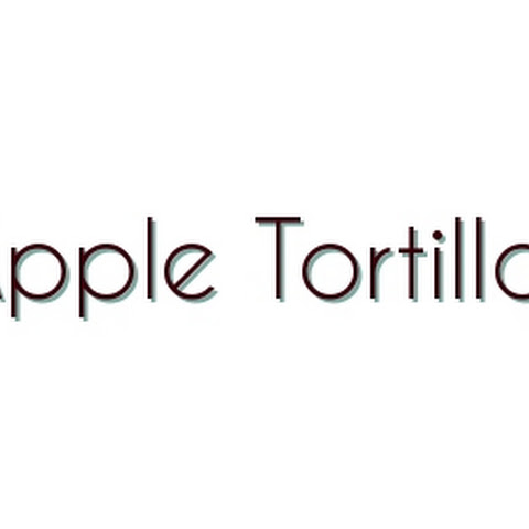 Apple Tortilla