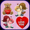 Romantic Love Stickers APK for iPhone