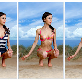 BEACH FASHION Exposed! by Mike Lloyd - Nudes & Boudoir Artistic Nude ( nude, girl, beach )