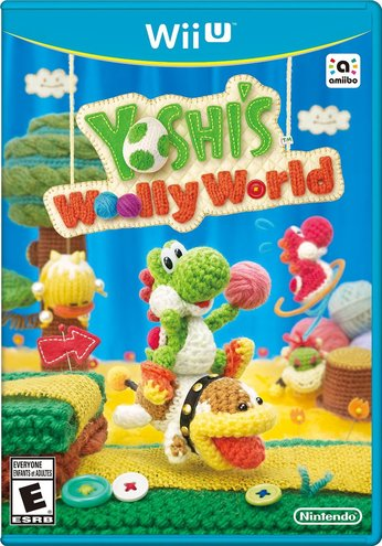 Yoshi's Woolly World - box art