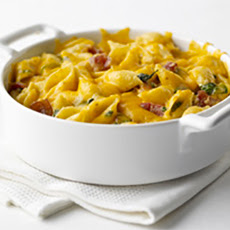 Spinach Bacon Macaroni and Cheese: