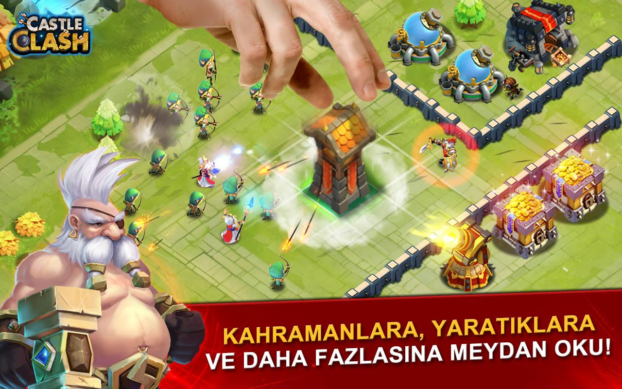 Castle Clash: Efsaneler Çağı Screenshot 1