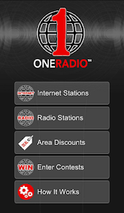 One Radio App - screenshot
