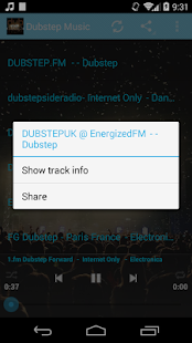 Dubstep Music ONLINE - screenshot