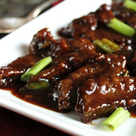 THE BEST MONGOLIAN BEEF