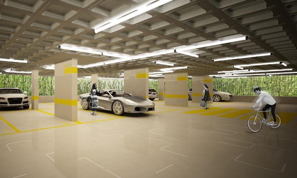 Perspectiva da Garagem