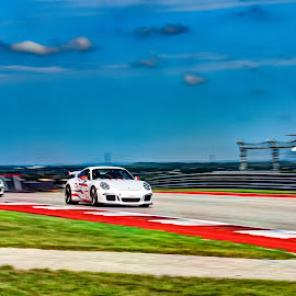 Porsche GT3 RS by Jim Moon - Transportation Automobiles ( porschegt3 rs, austin texas, #130, whisper river  photography, jim moon, f1 track., cota circuit of the americas )