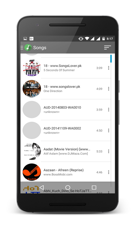 N Music Player Pro Screenshot 1