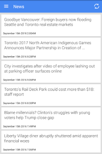 Toronto News - screenshot