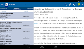 Screenshot of PCI Concursos