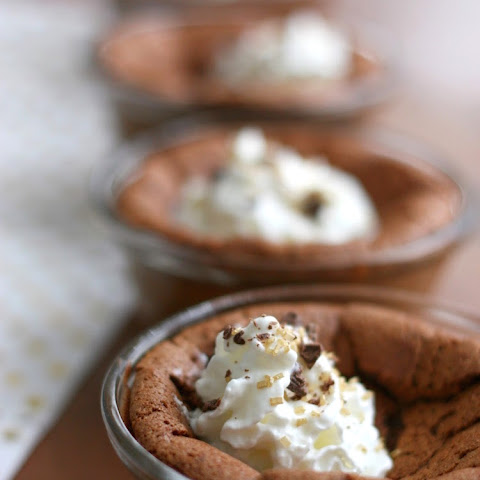 Baked Chocolate Pudding Cups