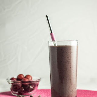 Chocolate Covered Cherry Protein Shake