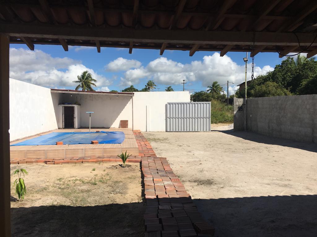 Vendo casa nova 3 qts, terreno de 360m² em Carapibus!