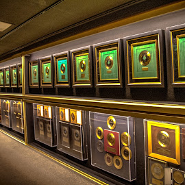 Hall of Gold at Graceland by Jackie Eatinger - Artistic Objects Still Life ( memphis, graceland )
