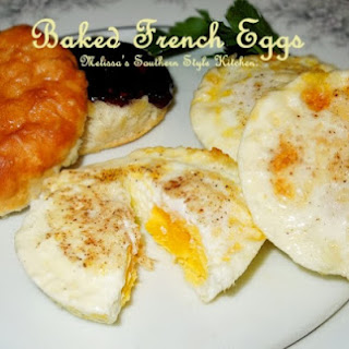 French Egg Dishes Recipes