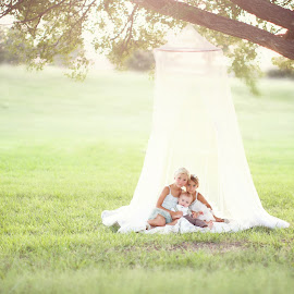 by Cara Waterson - People Couples ( children portrait, nature, sunset, childhood, summertime, KidsOfSummer )