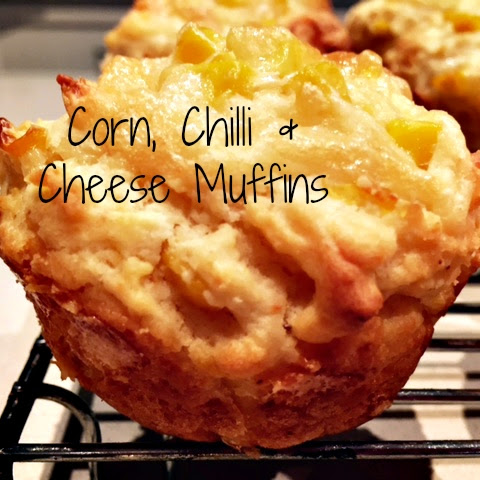 Corn, Chilli & Cheese Muffins