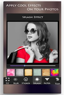 Color Splash Photo Effect - screenshot