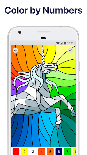Paint by Numbers: New Coloring Pictures Book Free For PC