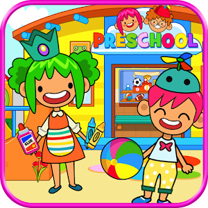 Pretend Preschool - Kids School Learning Games For PC (Windows & MAC)