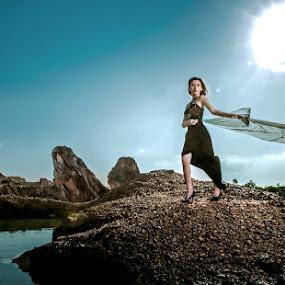 Dance with the sun by Irwan Kairuman - People Fashion ( model, fashion )