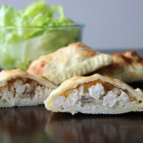 Creamy Chicken and Mushroom Puff Pastries