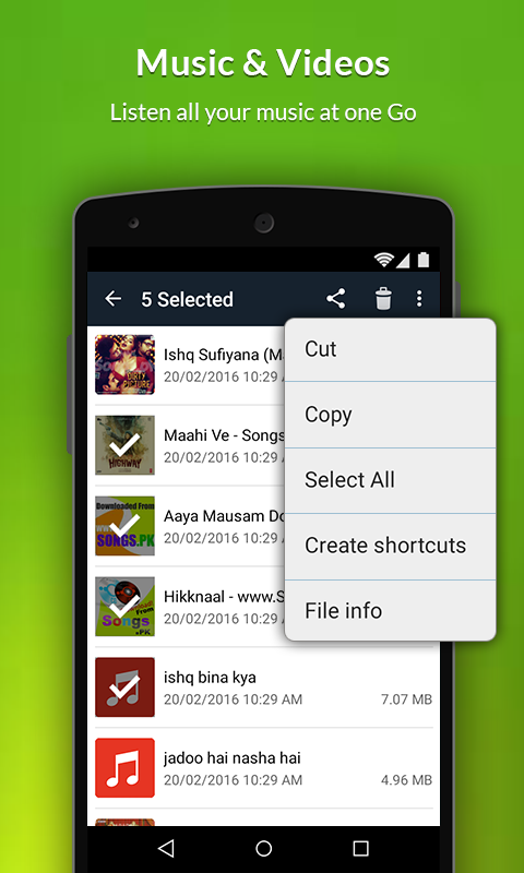 File Manager PRO Screenshot 4