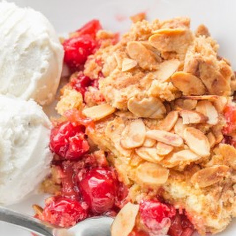 Easy Pineapple Cherry Dump Cake