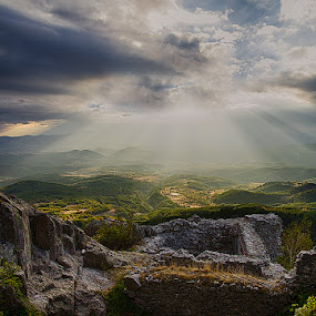 light by Tanya Markova - Landscapes Travel ( mountain, stone, castle, landscape, light )
