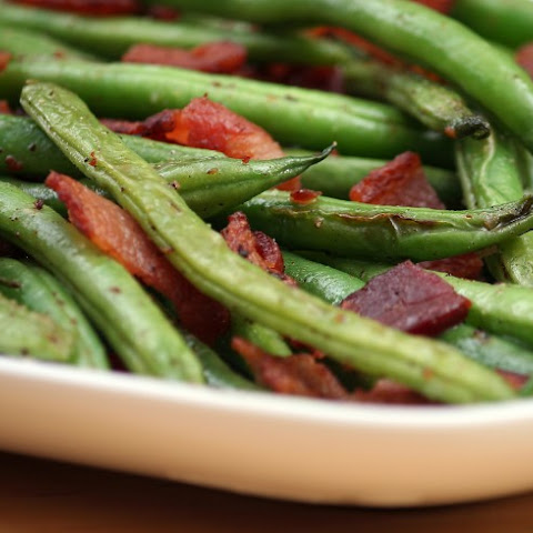 Green Beans With Bacon, Shallots And Cider Vinegar