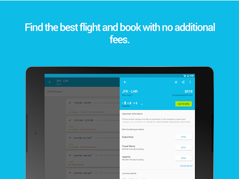 Skyscanner APK screenshot thumbnail 8