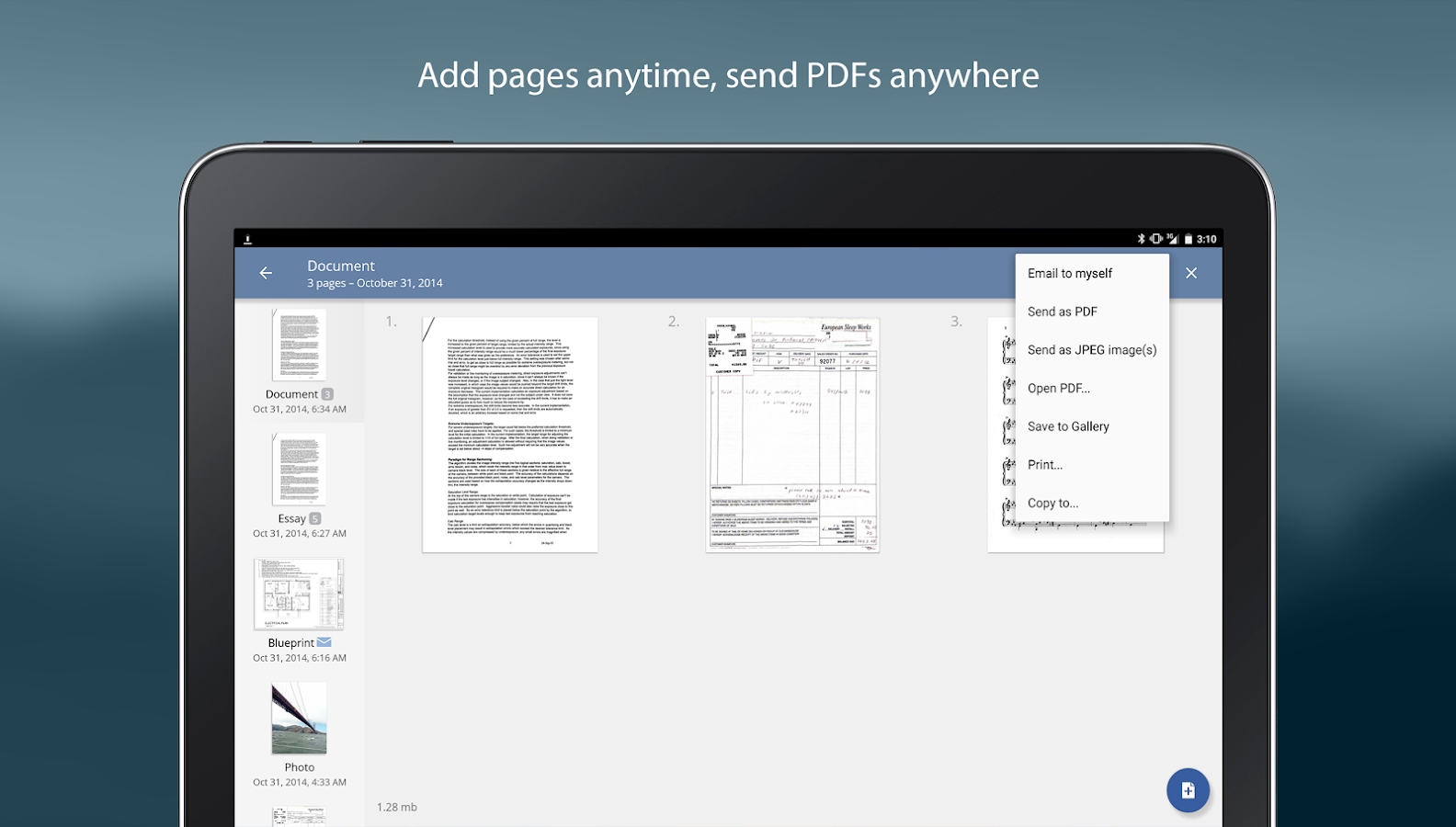 TurboScan: scan documents and receipts in PDF Screenshot 10