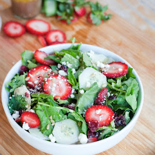 Baby Kale and Strawberry Salad